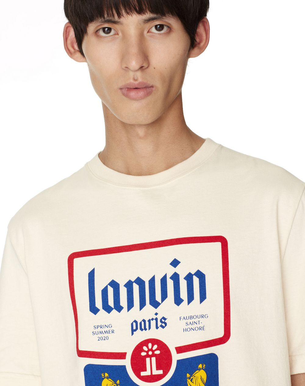 T-SHIRT CON STAMPA LANVIN - Lanvin