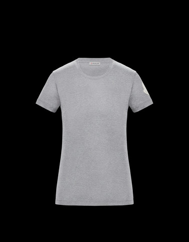 T-SHIRT Light grey Category T-shirts Woman