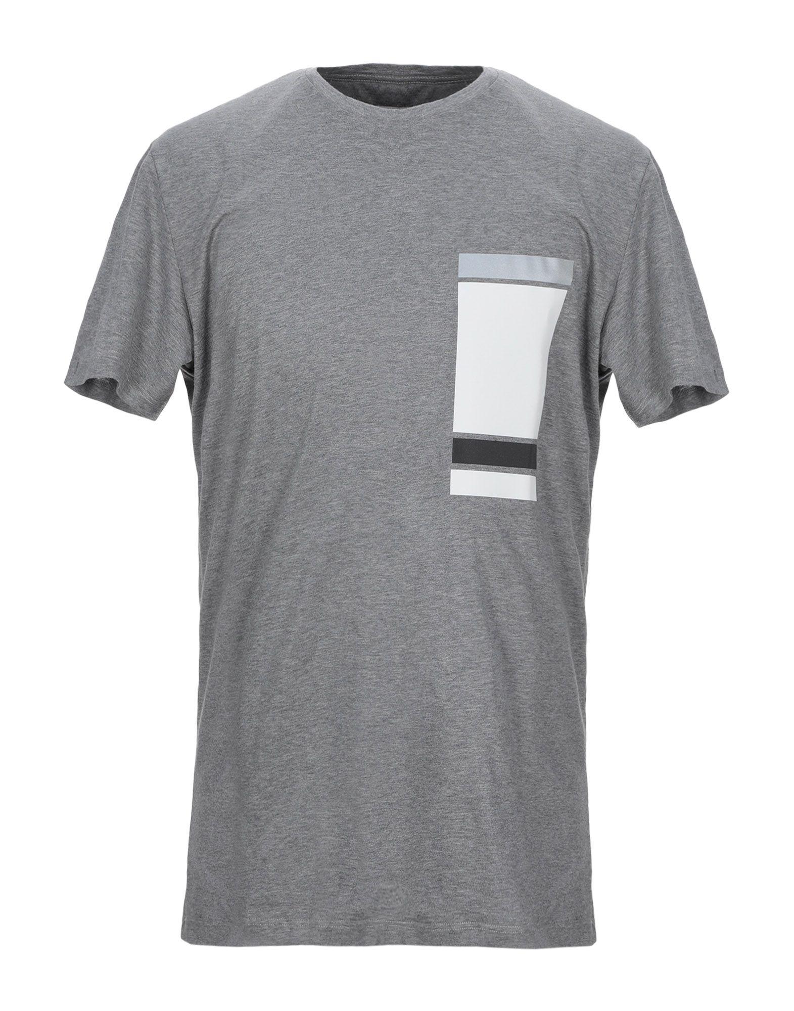 《セール開催中》PMDS PREMIUM MOOD DENIM SUPERIOR メンズ T シャツ グレー S コットン 100%