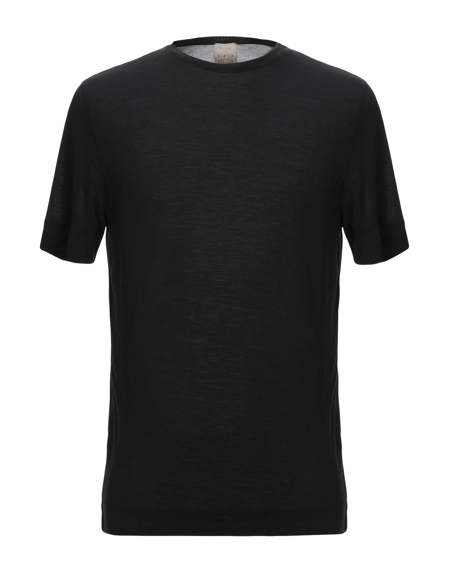 《セール開催中》H953 メンズ T シャツ ブラック 46 指定外繊維(テンセル)? 100%