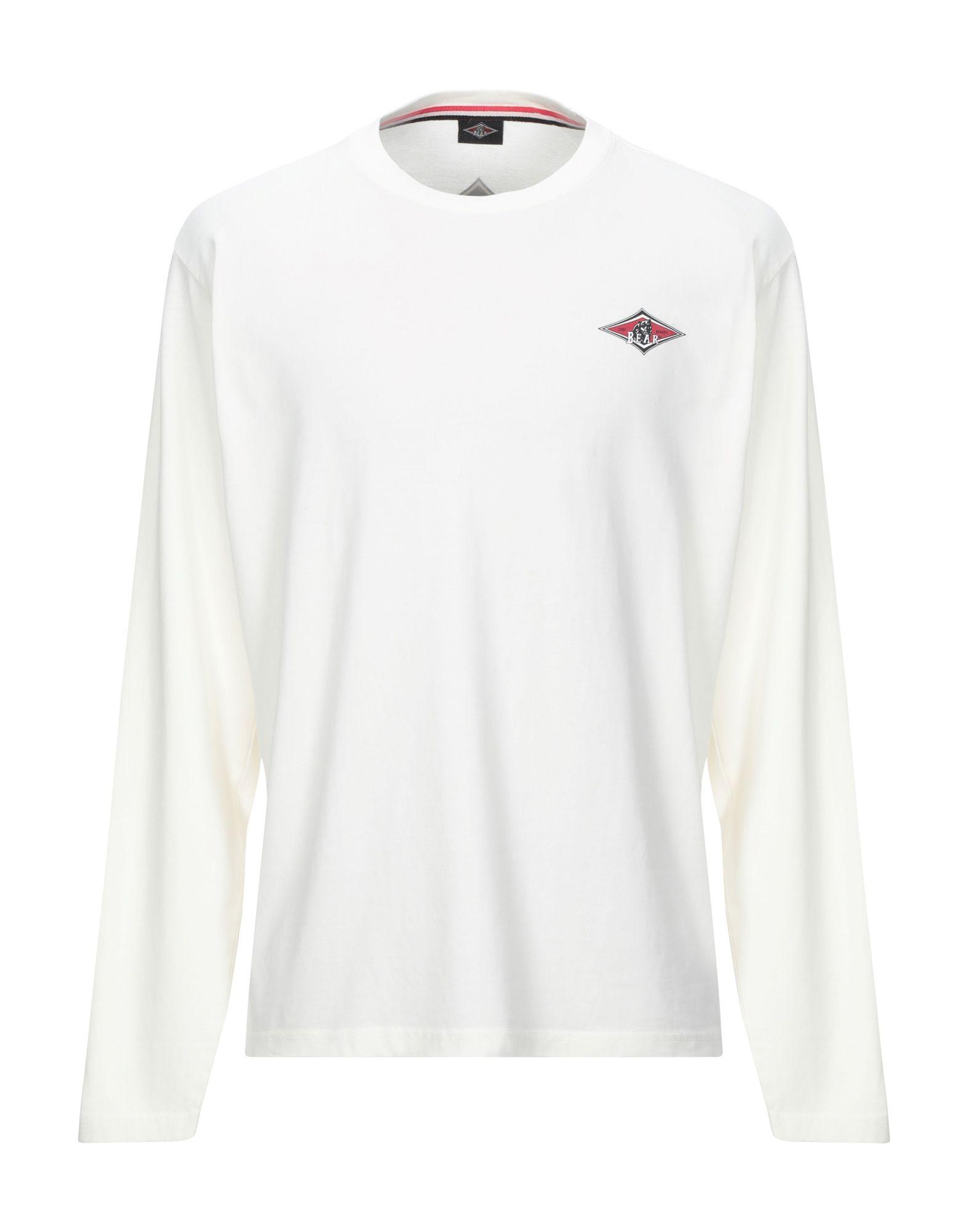 《セール開催中》BEAR メンズ T シャツ アイボリー XL コットン 100%