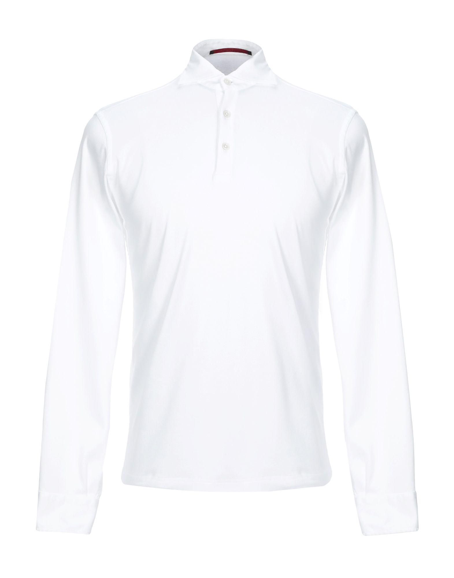 《セール開催中》JEORDIE'S メンズ ポロシャツ ホワイト S コットン 100%