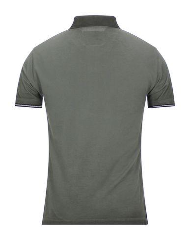 Фото 2 - Мужское поло BROOKSFIELD цвет зеленый-милитари