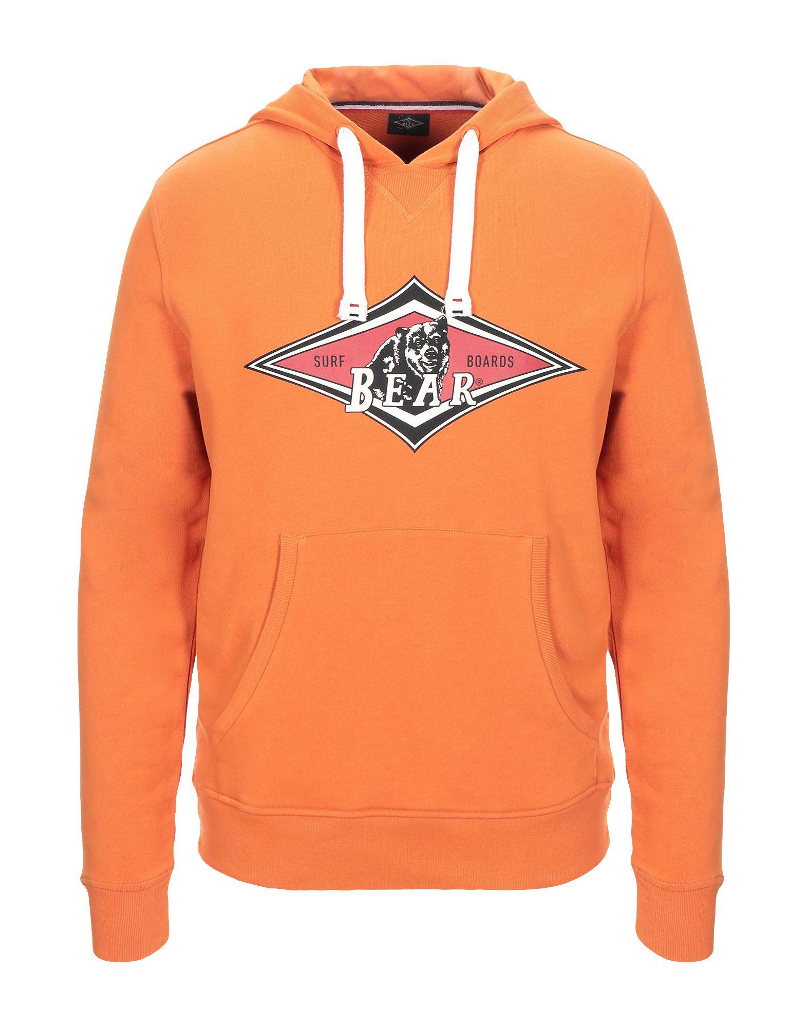 《セール開催中》BEAR メンズ スウェットシャツ オレンジ M コットン 100%