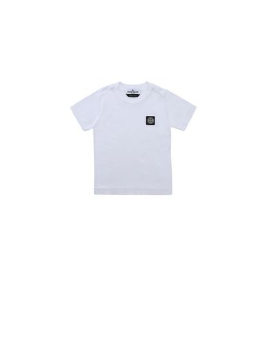 STONE ISLAND BABY 20147 Short sleeve t-shirt Man White EUR 49