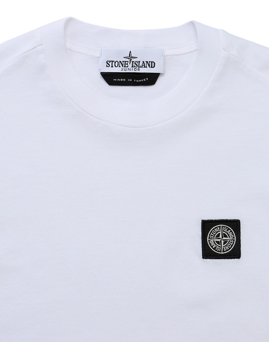 12418182td - Polo - T-Shirts STONE ISLAND JUNIOR