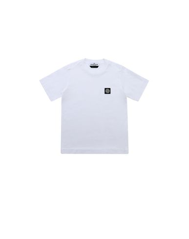 STONE ISLAND KIDS 20147 Short sleeve t-shirt Man White EUR 52