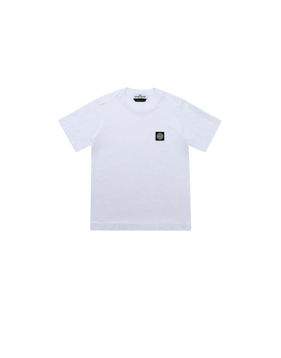 Short sleeve t-shirt Man 20147 Front STONE ISLAND KIDS
