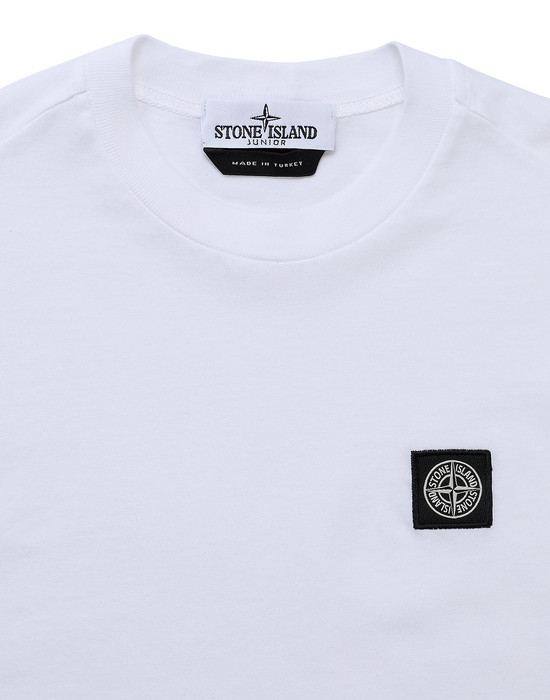 12418261sp - Polo - T-Shirts STONE ISLAND JUNIOR