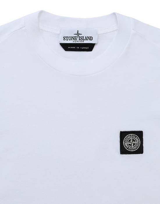 12418296jg - Polo - T-Shirts STONE ISLAND JUNIOR