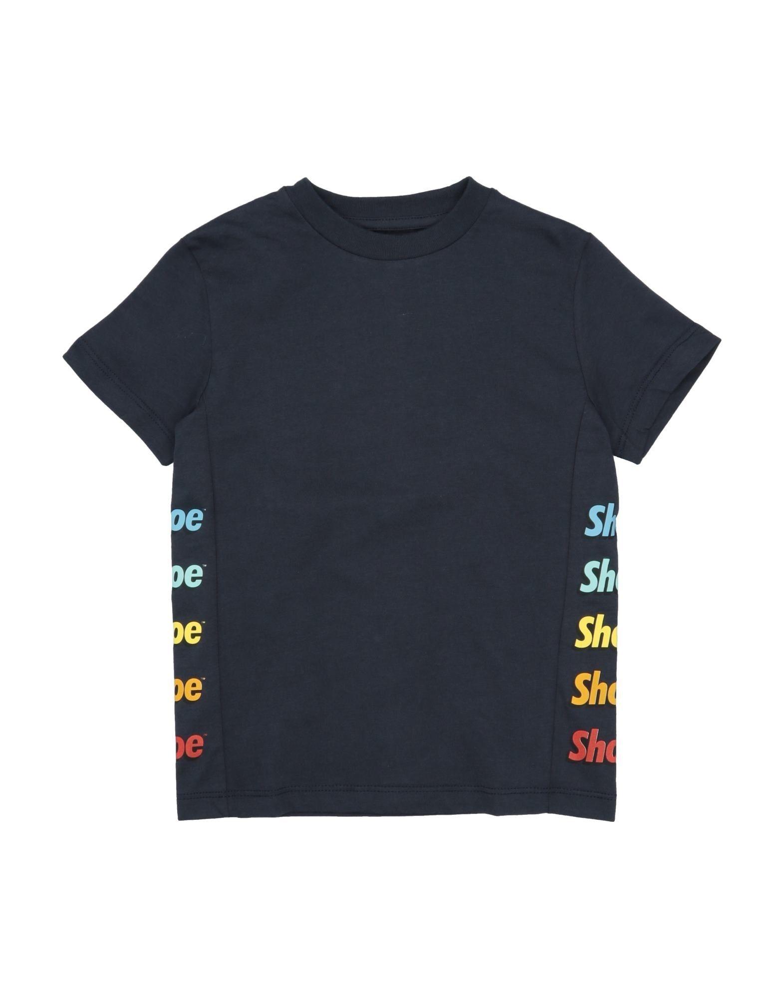 Shoeshine Kids' T-shirts In Dark Blue