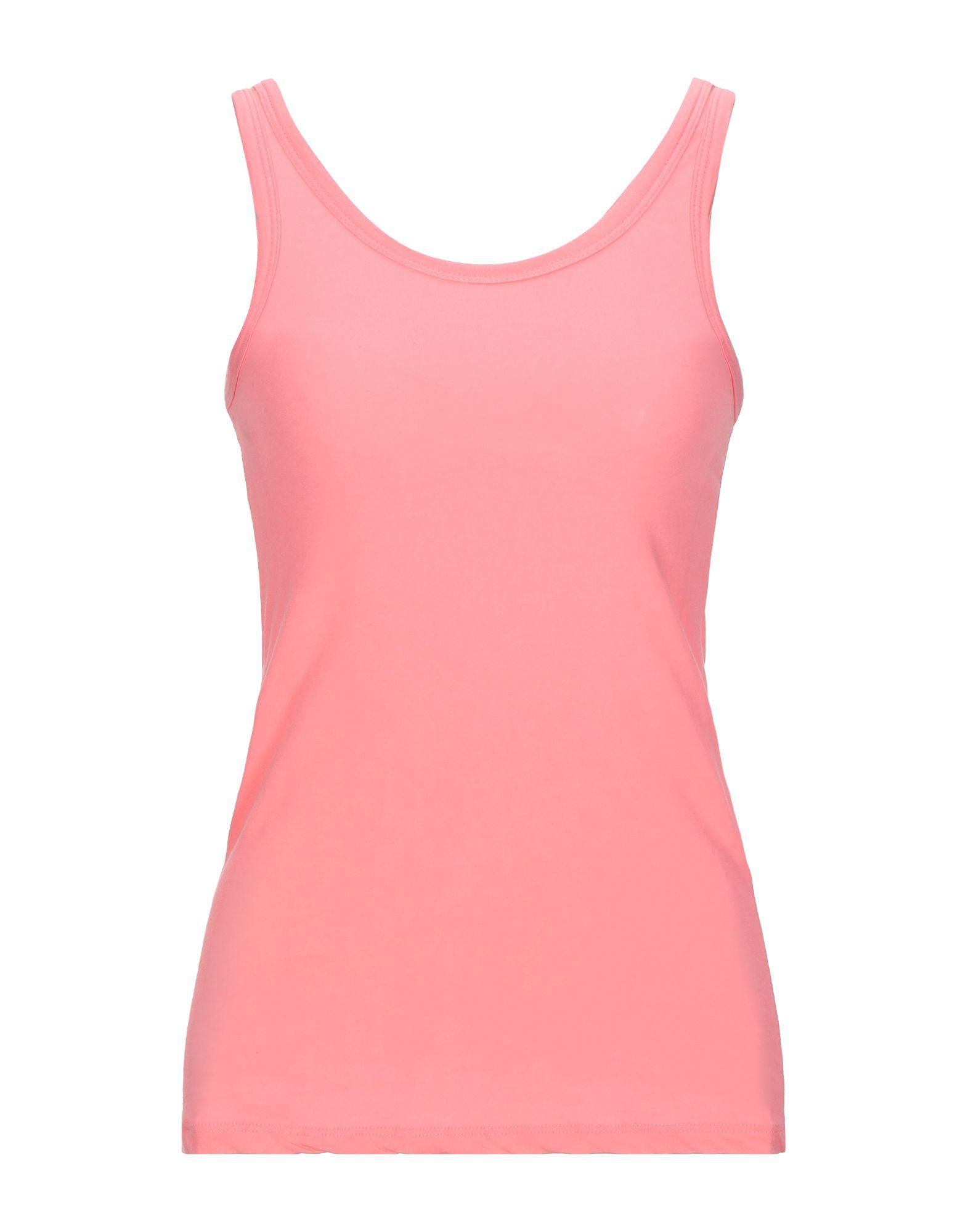 《セール開催中》VICOLO NORTHLAND レディース タンクトップ ピンク one size コットン 90% / ポリウレタン 10%