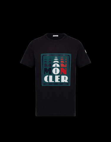 T-SHIRT Black New in Man