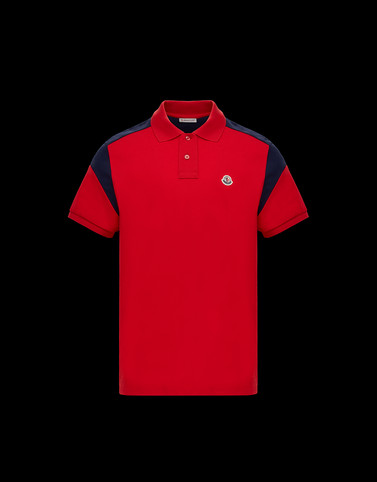 POLO Red Shirts Man