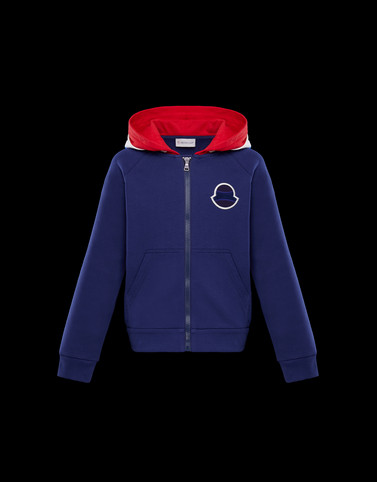 SWEATSHIRT Blue Kids 4-6 Years - Boy Man