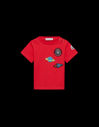 T-SHIRT Red Baby 0-36 months - Boy Man