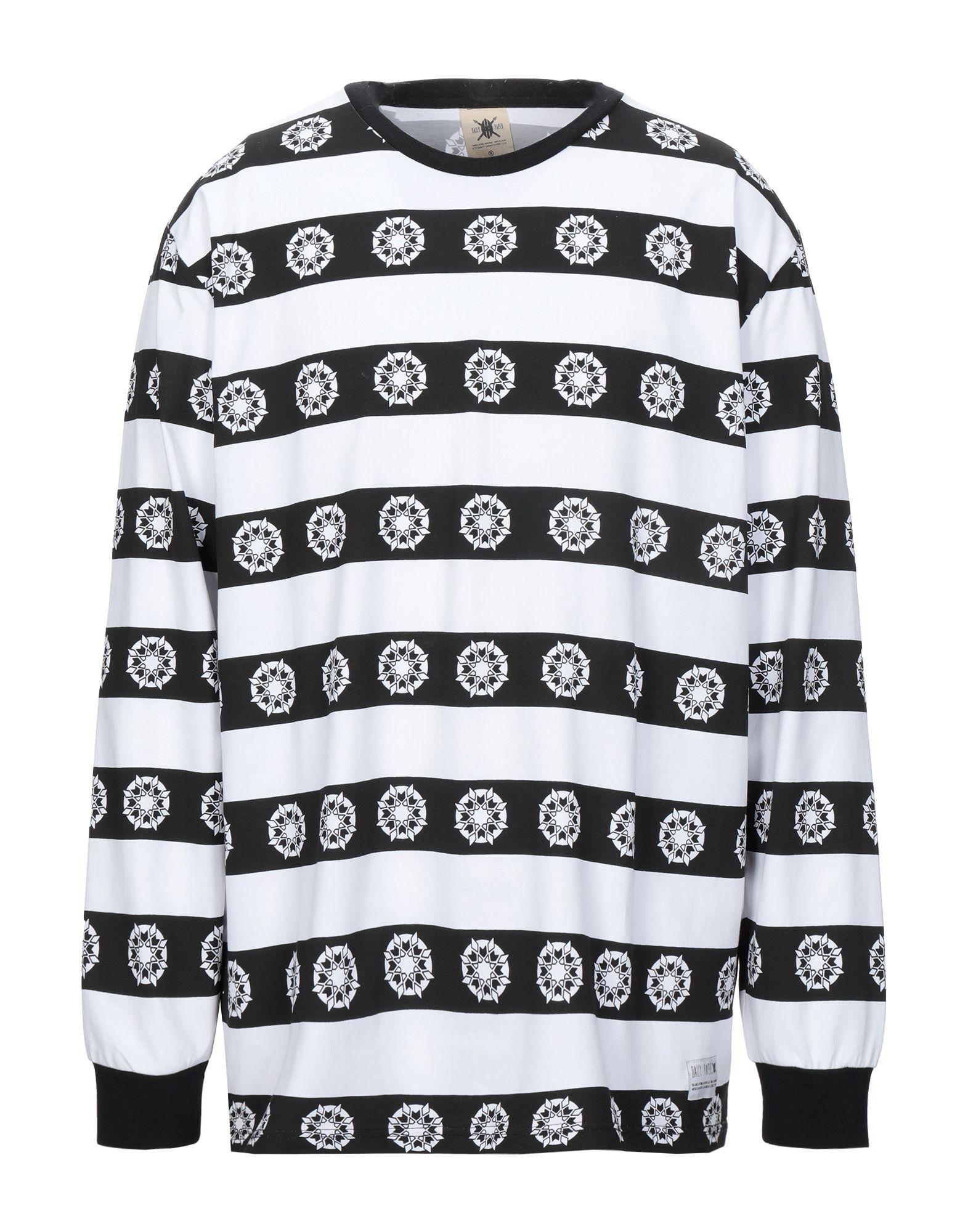 《セール開催中》DAILY PAPER メンズ T シャツ ブラック XL コットン 100%