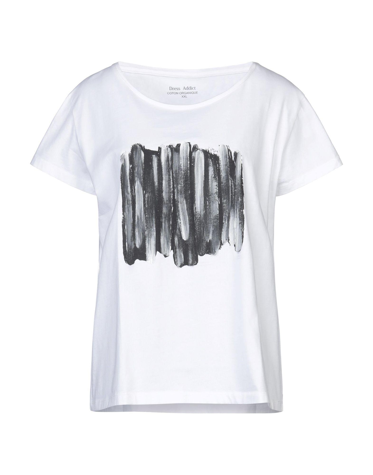 DRESS ADDICT Футболка футболка домашняя lika dress lika dress mp002xw1hu0m