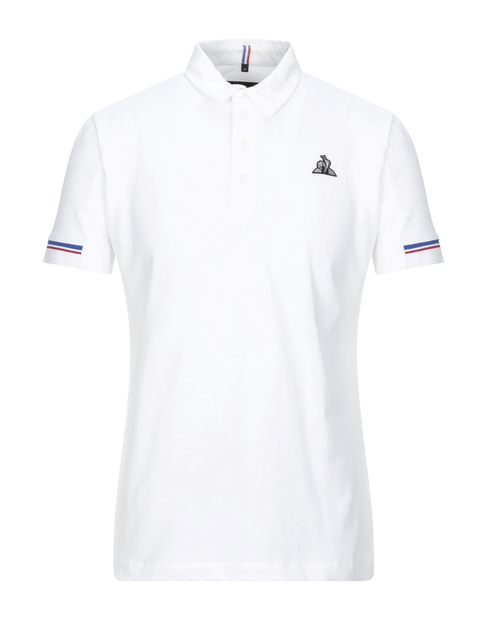 《セール開催中》LE COQ SPORTIF メンズ ポロシャツ ホワイト S コットン 100%
