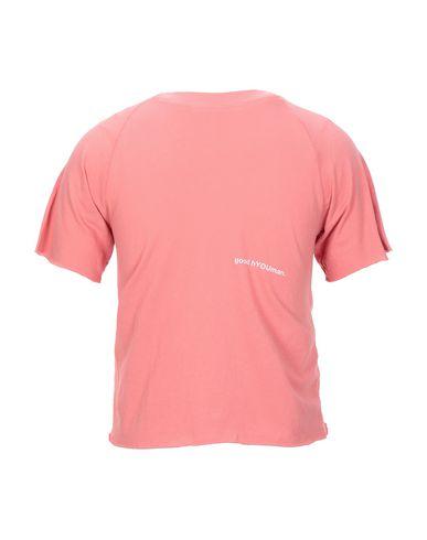 Фото 2 - Женскую футболку GOOD H YOUMAN кораллового цвета