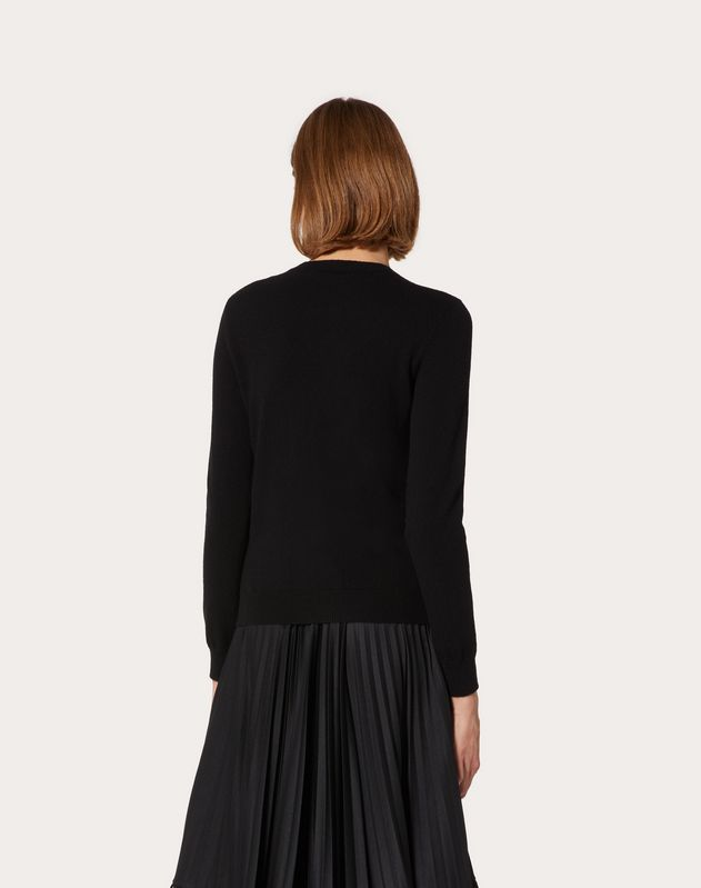 VLTN Cashmere Wool Sweater