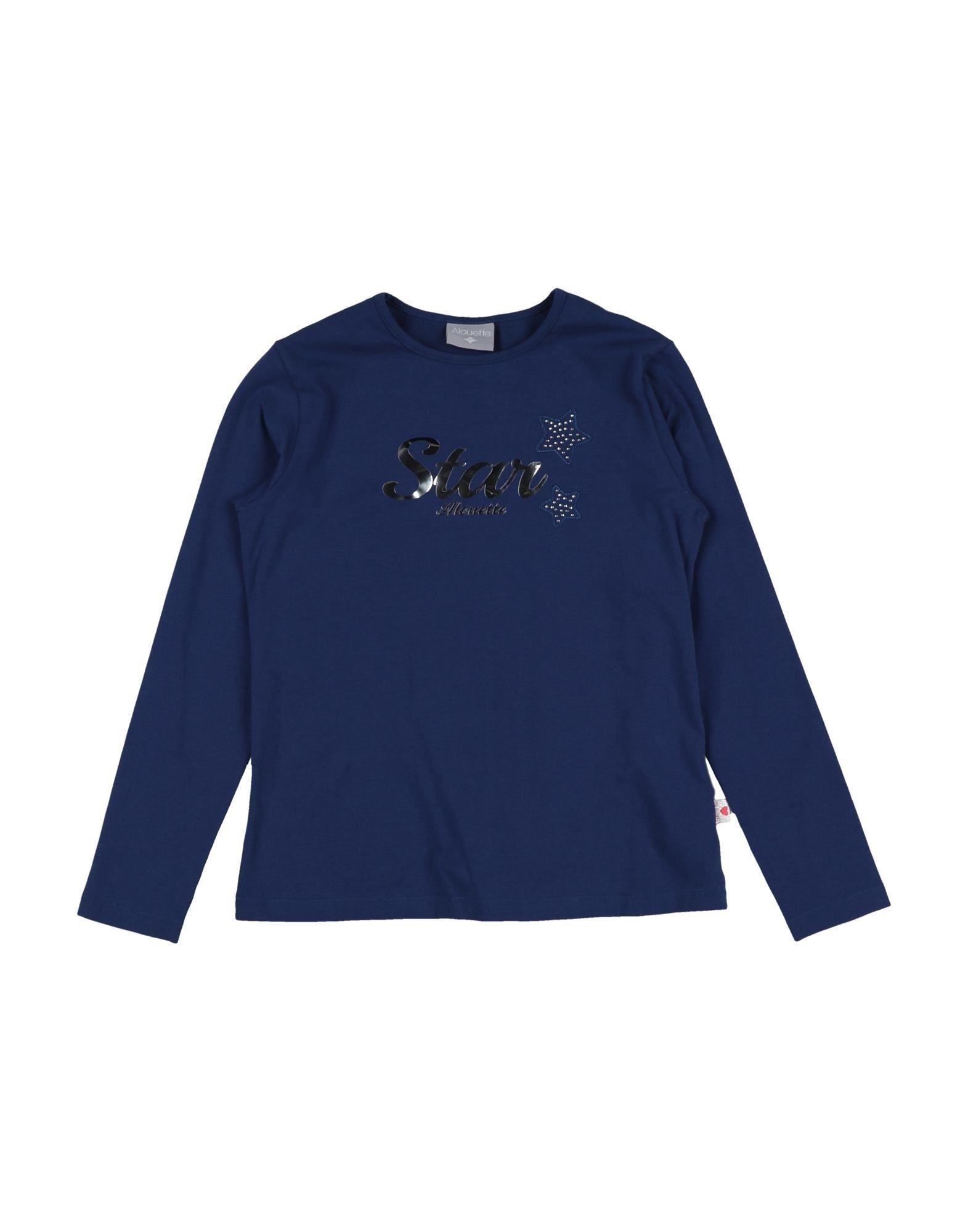 Alouette Kids' T-shirts In Blue