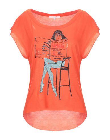 Фото - Женскую футболку KORALLINE оранжевого цвета