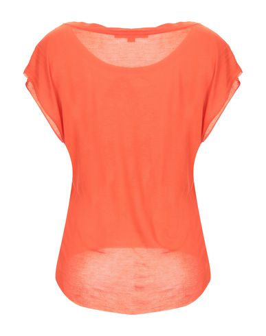 Фото 2 - Женскую футболку KORALLINE оранжевого цвета