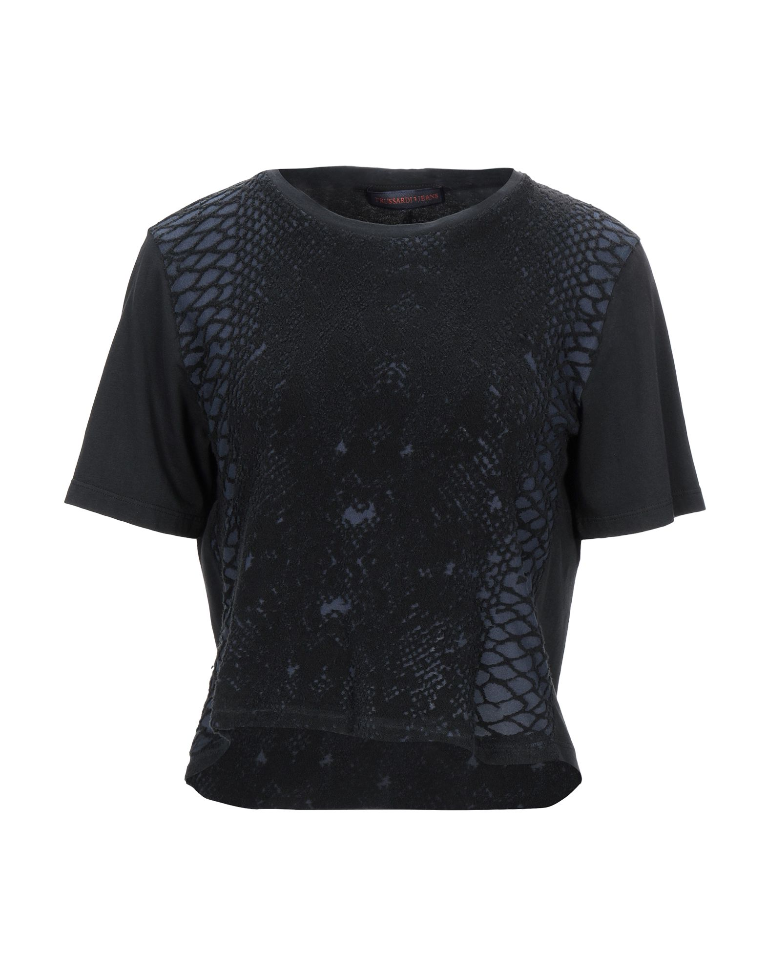 TRUSSARDI JEANS Футболка рубашка trussardi jeans trussardi jeans tr016ewftcd0