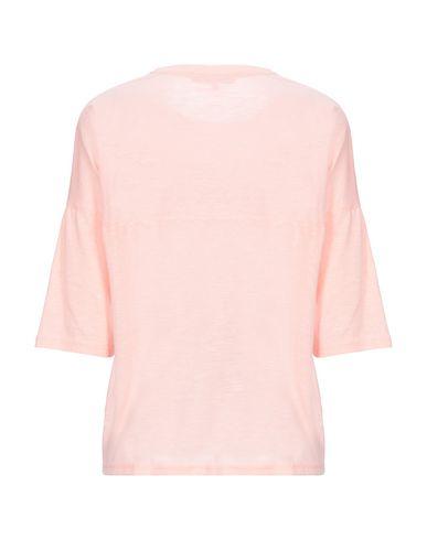 Фото 2 - Женскую футболку KORALLINE розового цвета