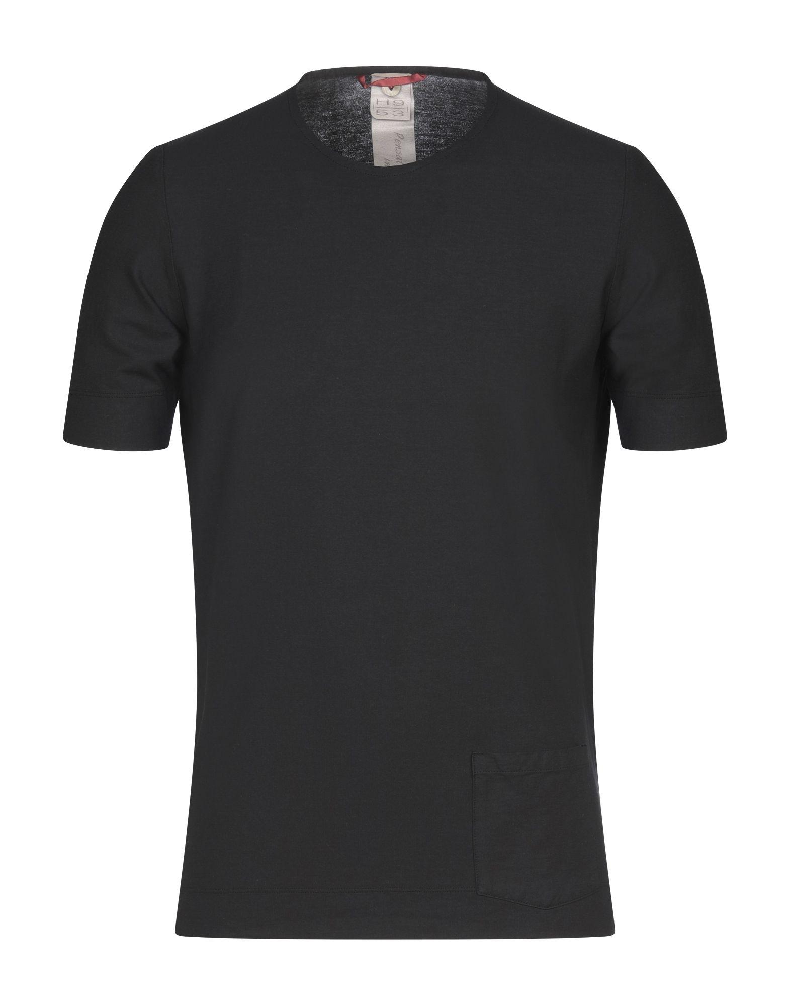 《セール開催中》H953 メンズ T シャツ ブラック 50 コットン 100%