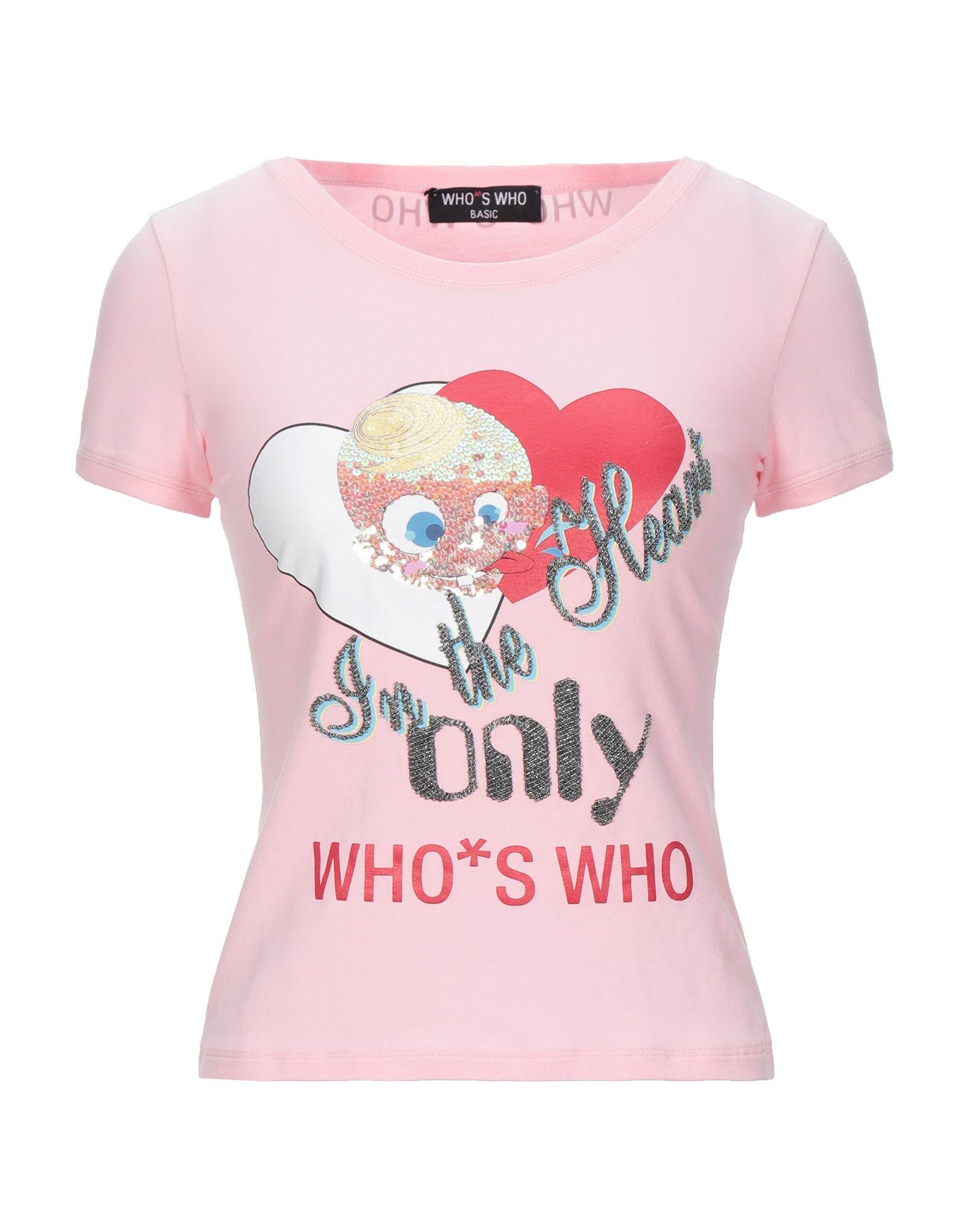 WHO*S WHO Футболка who s that girl