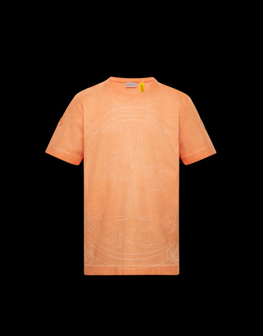 T-SHIRT Orange T-shirts & Tops