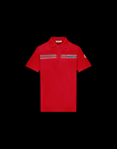 POLO SHIRT Red Junior 8-10 Years - Boy Man