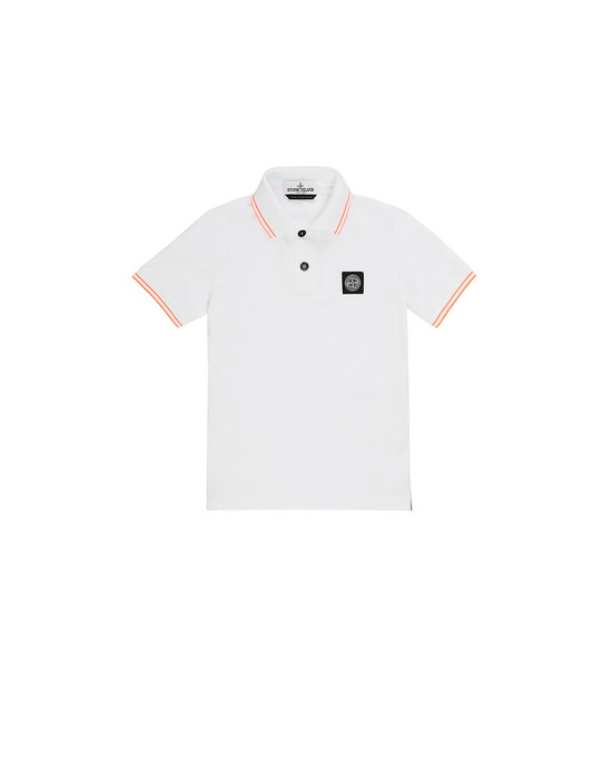 Polo shirt Man 21348 Front STONE ISLAND KIDS