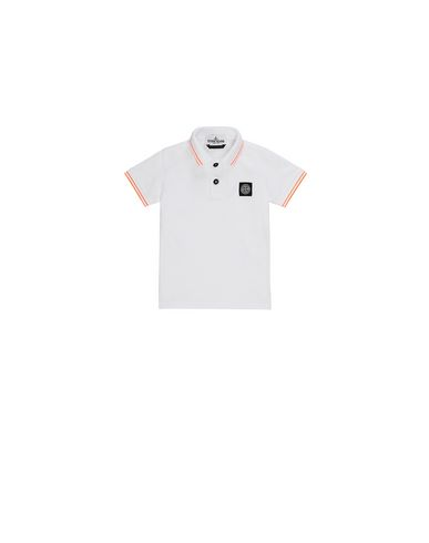 STONE ISLAND BABY 21348 Polo shirt Man White USD 106