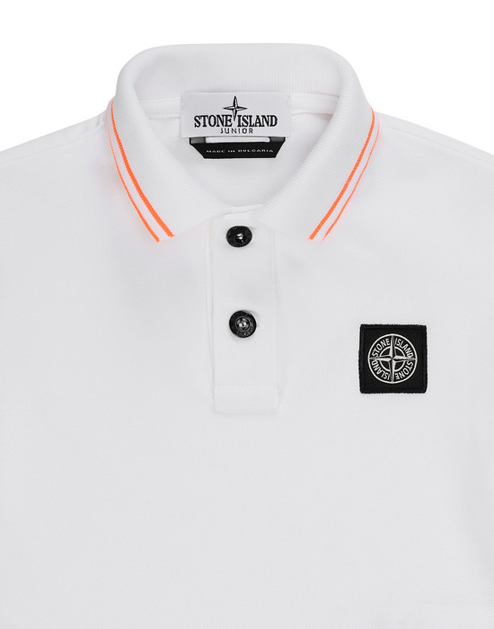 12431406rn - Polo - T-Shirts STONE ISLAND JUNIOR