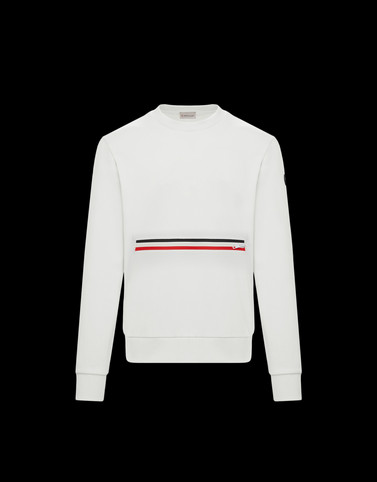 SWEATSHIRT Ivory Category Sweatshirts Man