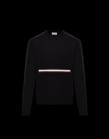 SWEATSHIRT Black New in Man