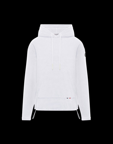 SWEATSHIRT White Category HOODED SWEATSHIRTS Man