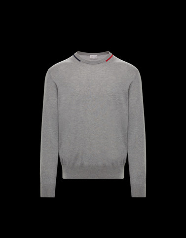 CREWNECK Grey Category Crewnecks Man