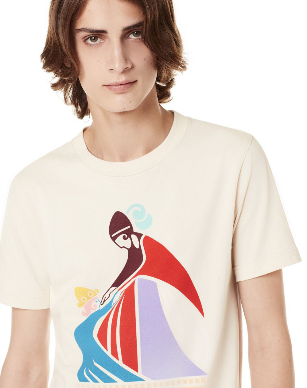MOTHER AND CHILD T-SHIRT - Lanvin