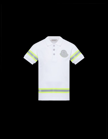 POLO SHIRT White Kids 4-6 Years - Boy Man