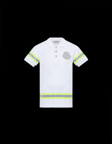 POLO SHIRT White Junior 8-10 Years - Boy