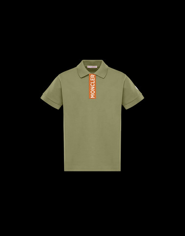 POLO SHIRT Military green Kids 4-6 Years - Boy Man