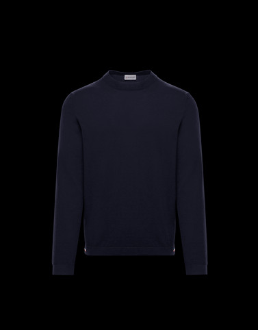 CREWNECK Dark blue Category Crewnecks Man