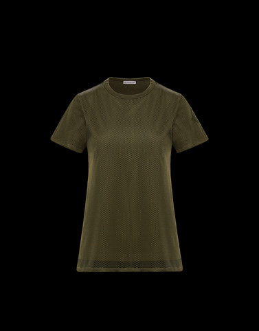 T-SHIRT Military green T-Shirts & Tops Woman