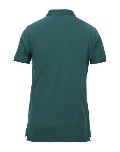 Фото 2 - Мужское поло BLU CASHMERE зеленого цвета