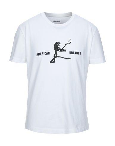 Фото - Женскую футболку TIM COPPENS белого цвета