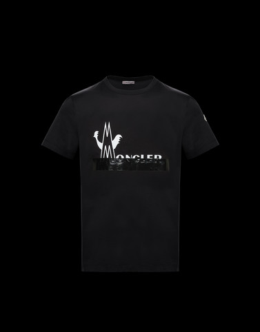 T-SHIRT Schwarz New in Herren